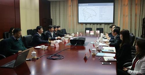 中国五百强企业FESCO公司落户东旭园区