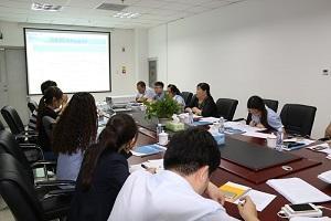 东旭国家领军人才基地召开政策培训会